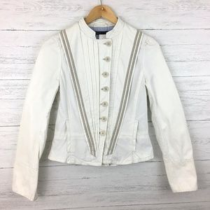 Marc Jacobs Women's Ivory Jacket Button Front 6